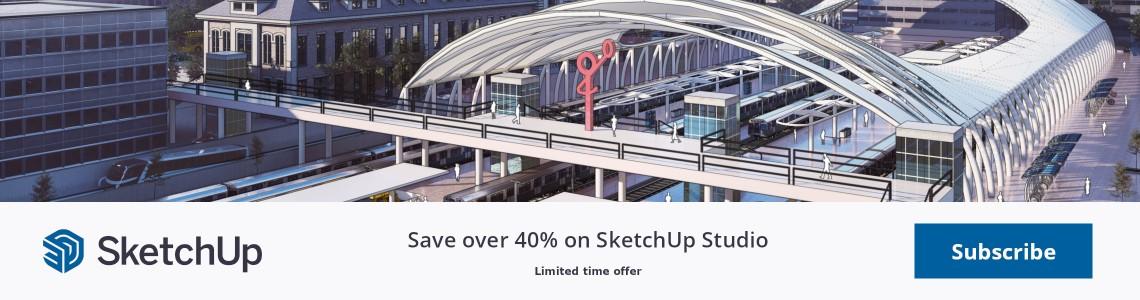 SketchUp Studio Relaunch Promo